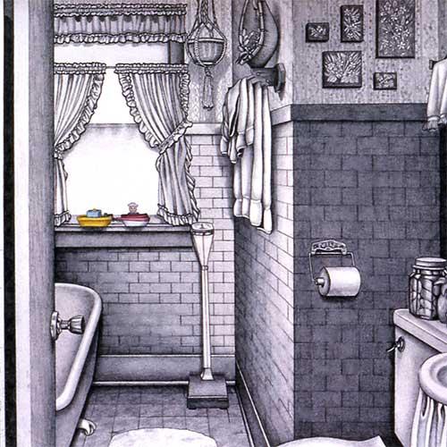 Bathroom Drawings